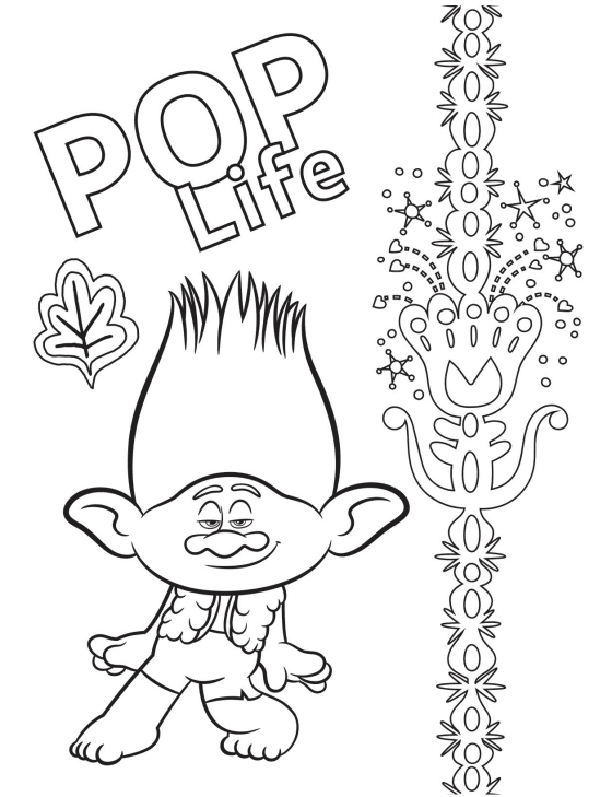 Queen Barb Coloring Page for kids