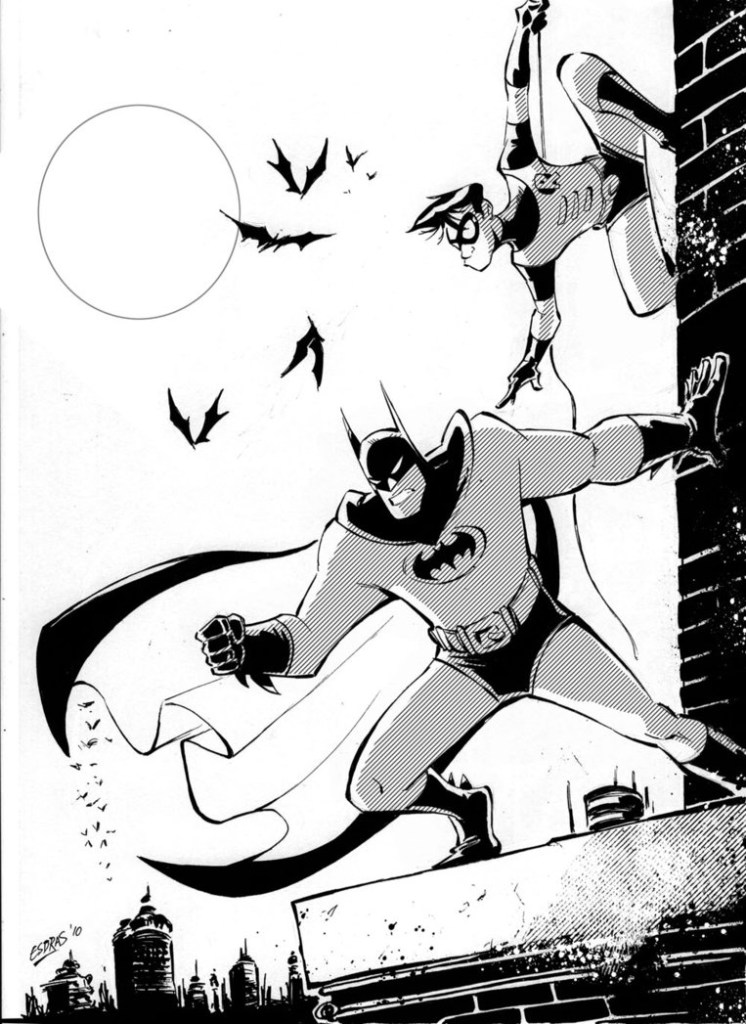 Robin Coloring Pages Batman