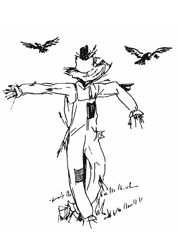 Scarecrow Template Pdf