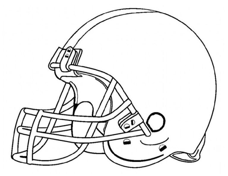 Seahawks Helmet Coloring Page