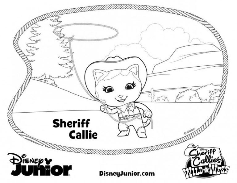 Sheriff Callie Free Printables