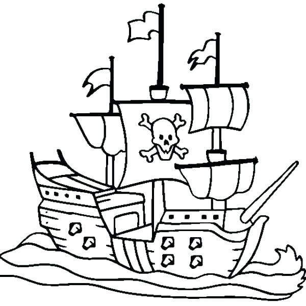 Ships Coloring Pages