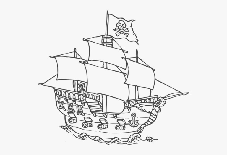 Ships Colouring Pages