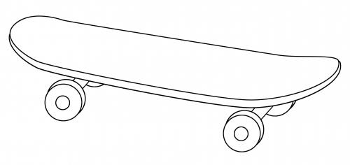 skateboard tempalate