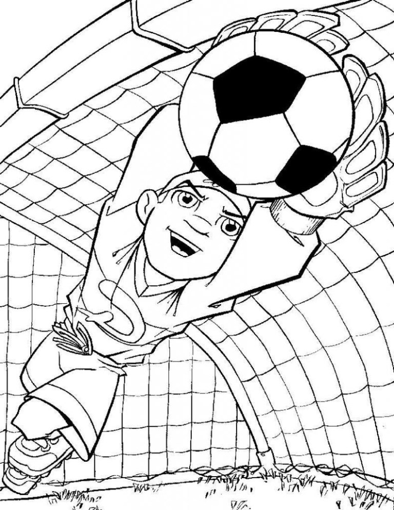 soccer ball colouring page Books