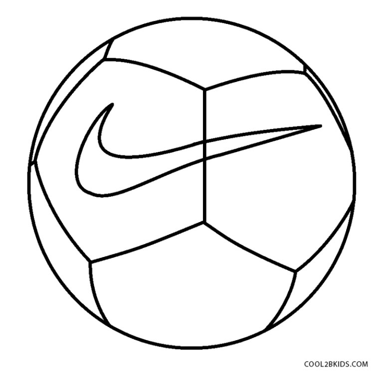 Soccer Balls Coloring Pages