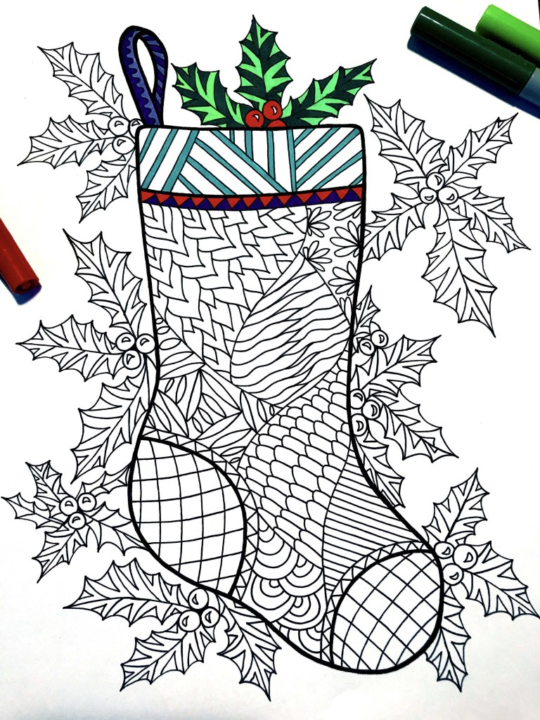 Stockings To Color