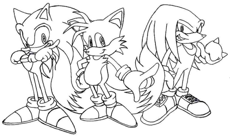Tails Outline