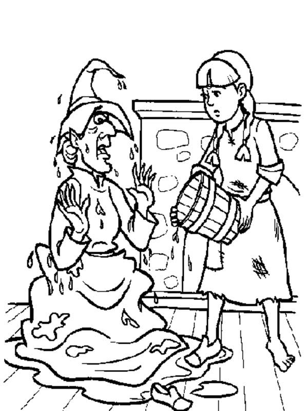 The Wiz Coloring Pages