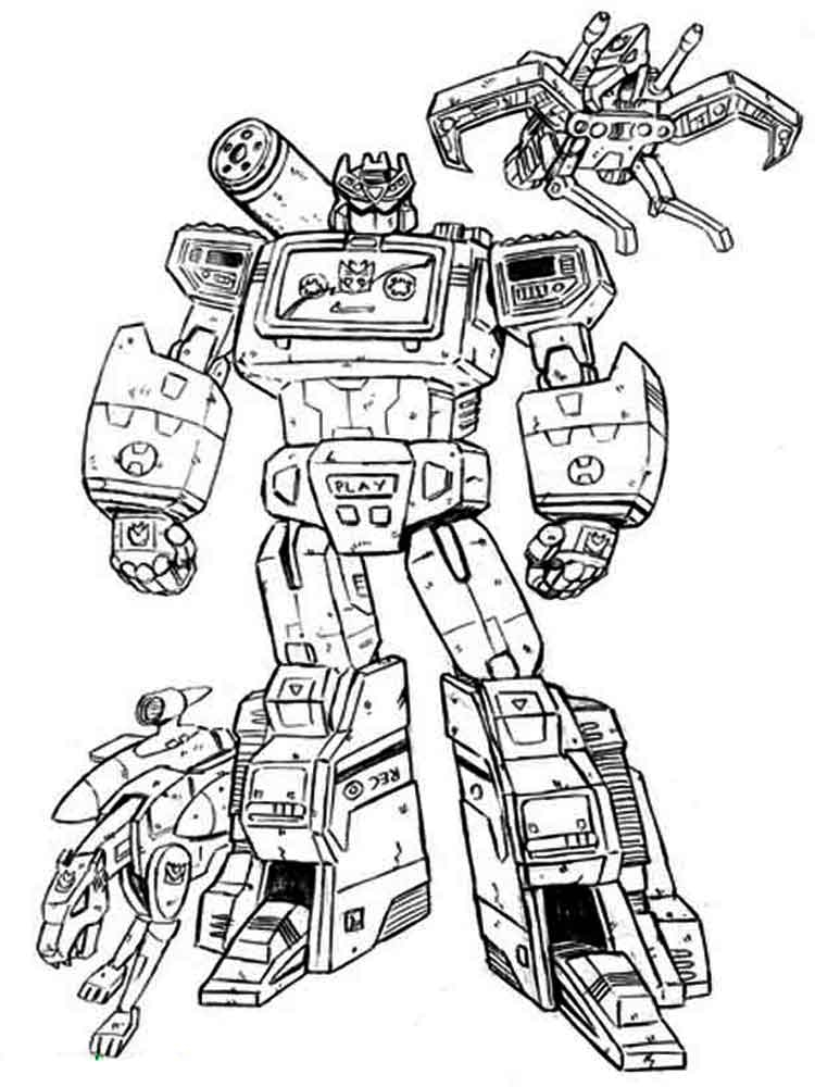 Transformers Color Sheets
