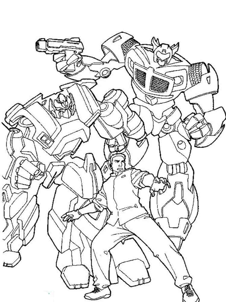 Transformes Coloring Pages