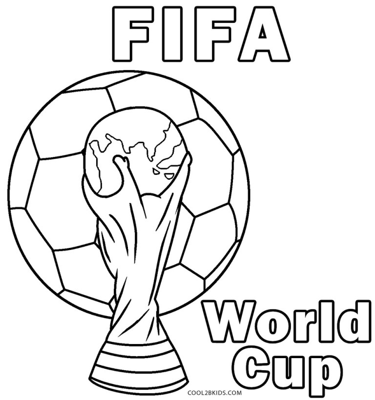 Usa Soccer Coloring Pages