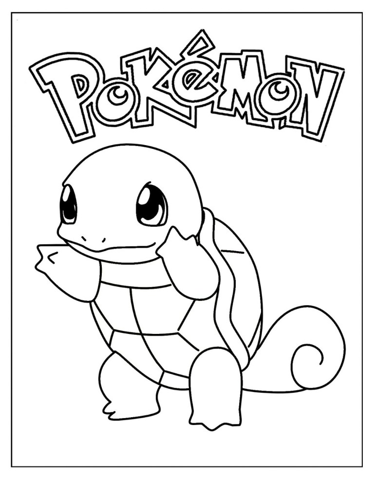 What Color Is Squirtle