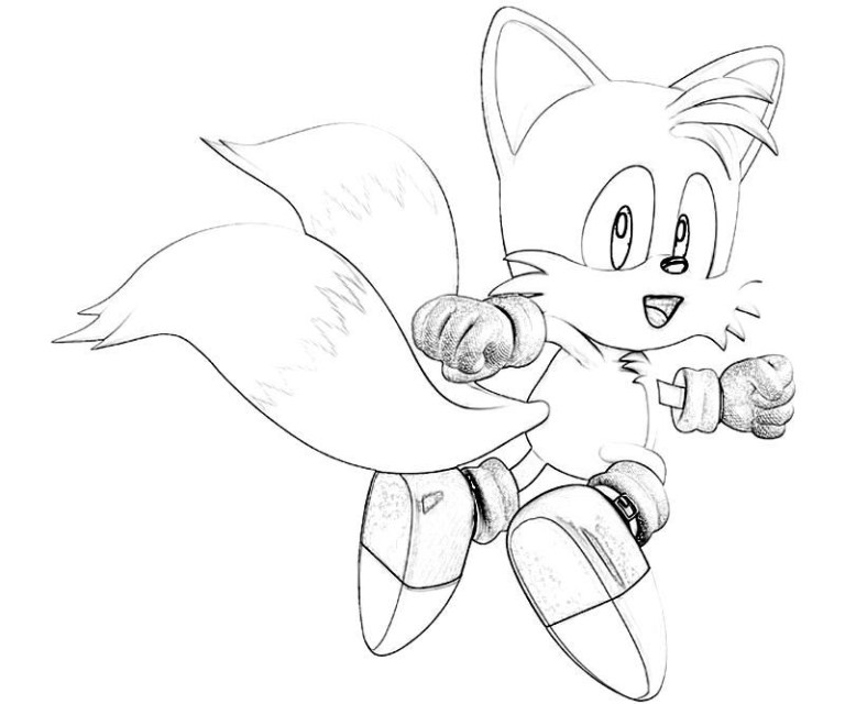 What Color Is Tails From Sonic The Hedgehog