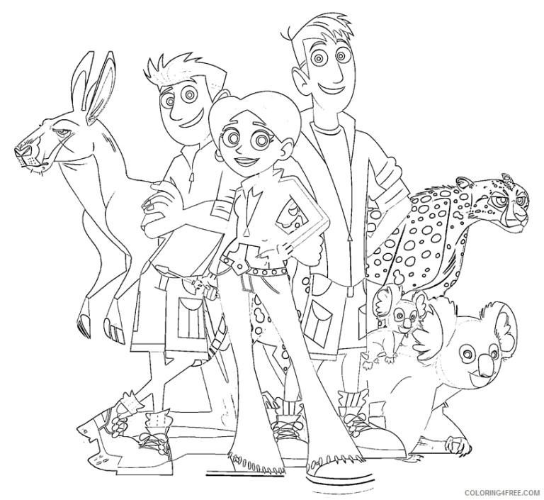 Wild Kratts Coloring Pages To Print