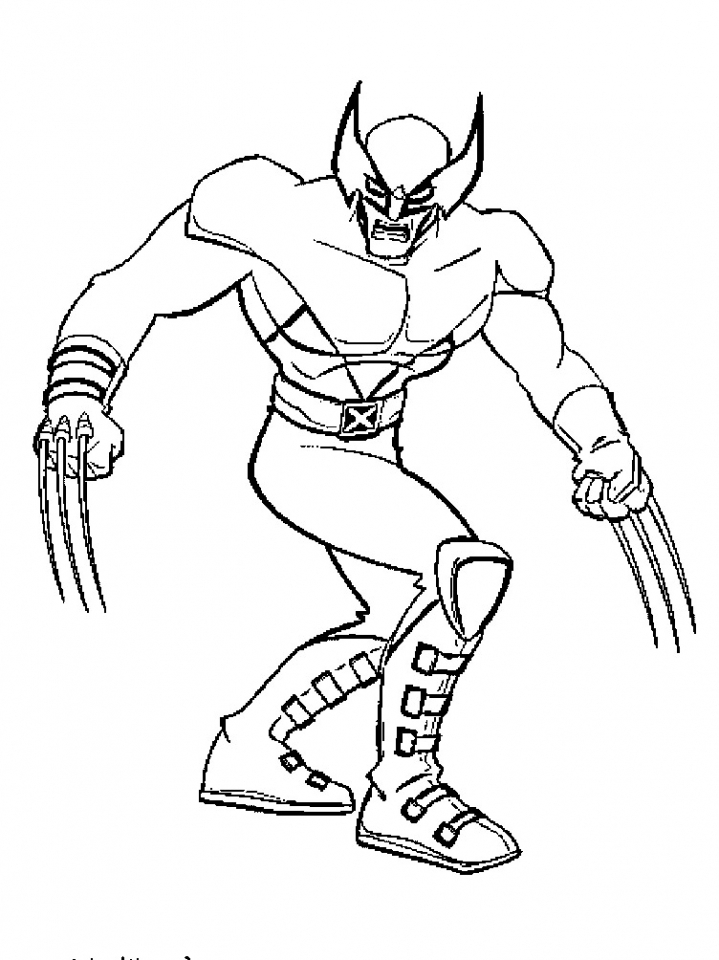 X Men Coloring Pages Free