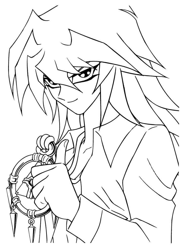 Yu Gi Oh Coloring