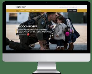 POTTF Recruiting Website Design