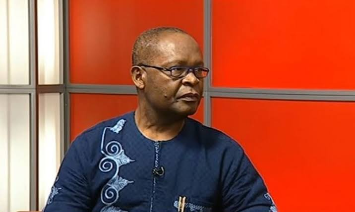 Joe Igbokwe in a news station .