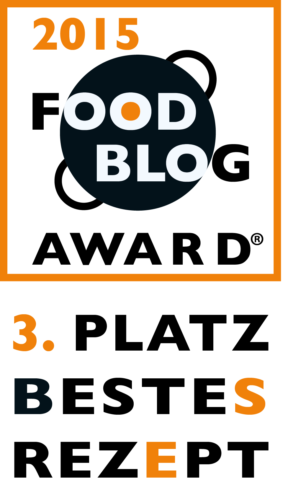Food Blog Award 2015