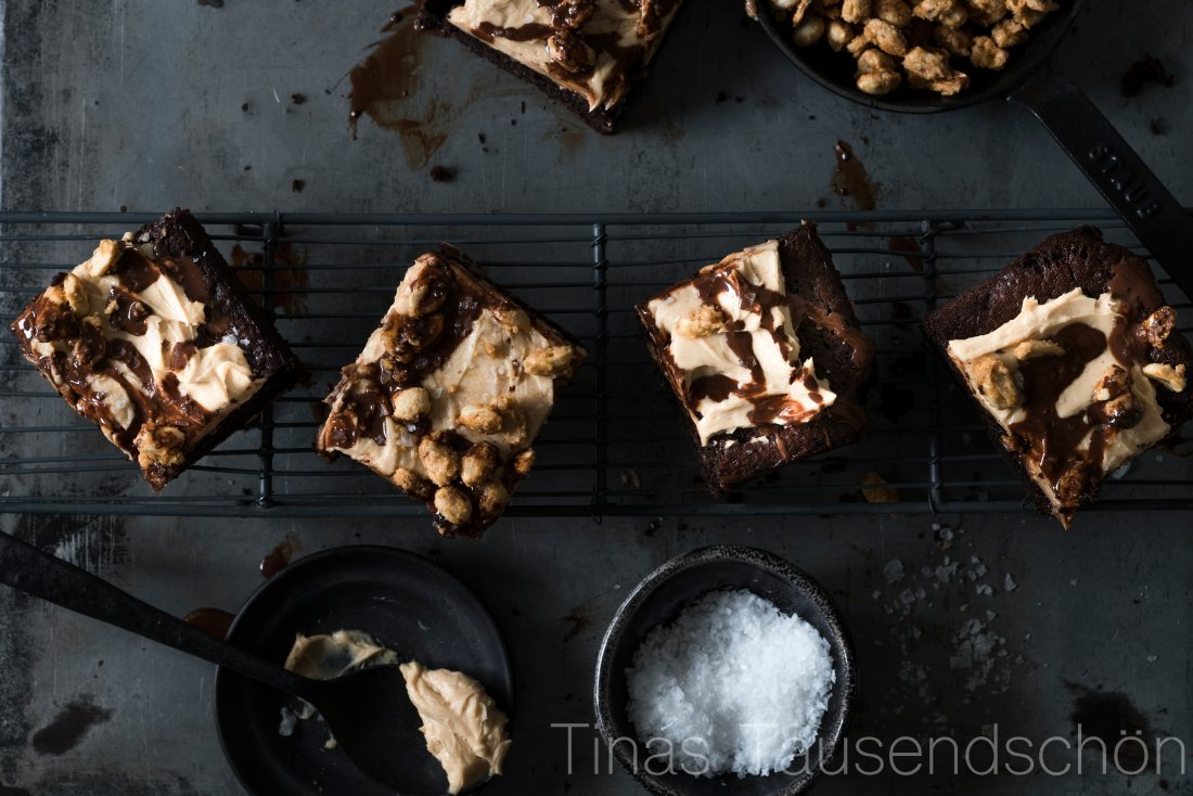 Snicker Brownies