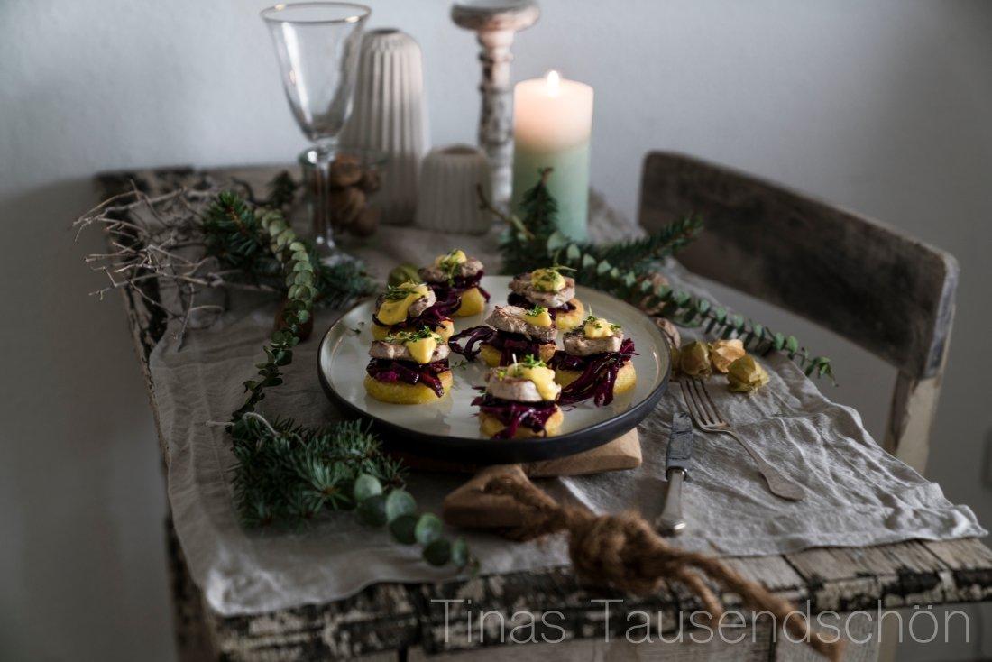 Total normale Weihnachten! Heute: Knödel, Rotkohl, Filet und Orangen ...