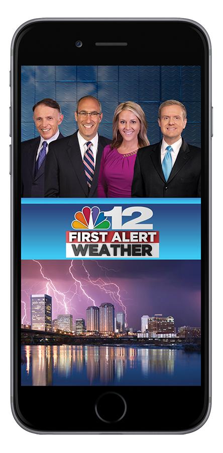 NBC12 Weather App Splash Screen