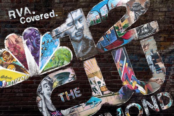 NBC12 & CW Richmond Graffiti Poster