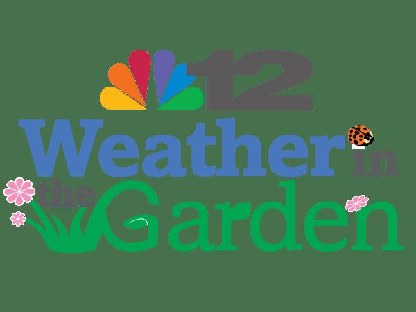 NBC12 Weather in The Garden Logo Design