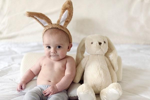 cute easter babay bunny ears