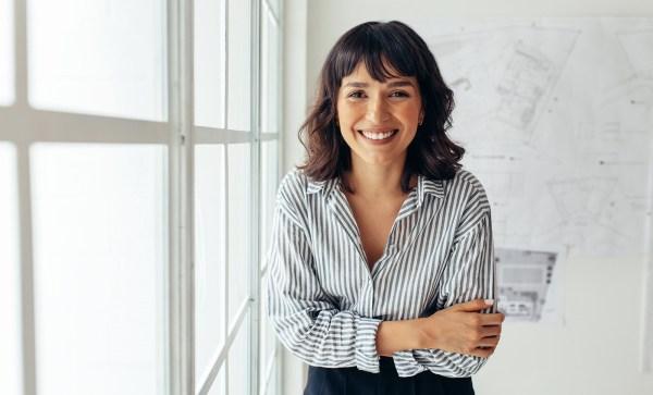 DIY Brand Photos window portrait