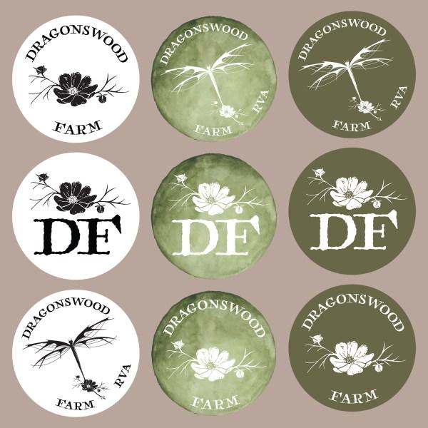 Dragonswood Farm Social Logo Icons