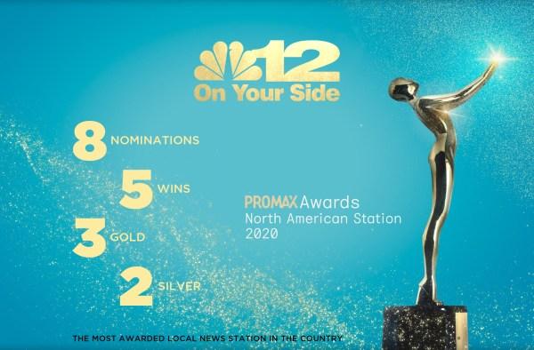 NBC12 Promax Wins Web Ad