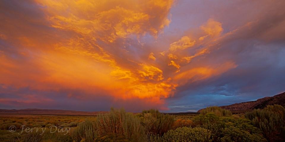 Sunset Clouds at Mono Lake