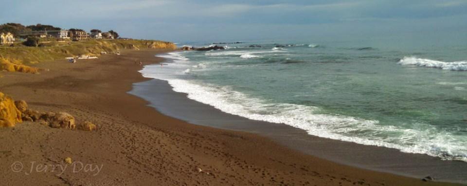 Moonstone Beach at Cambria, California