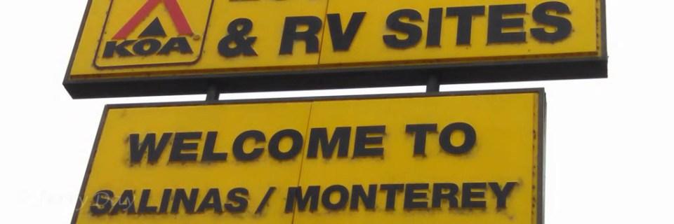Salinas / Monterey KOA Sign