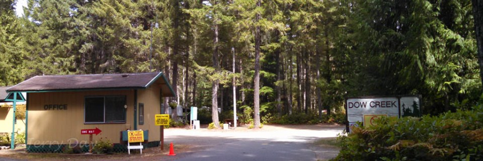 Dow Creek RV Resort Entrance