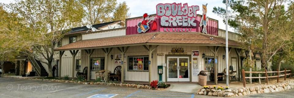 Boulder Creek RV Park, Lone Pine, CA