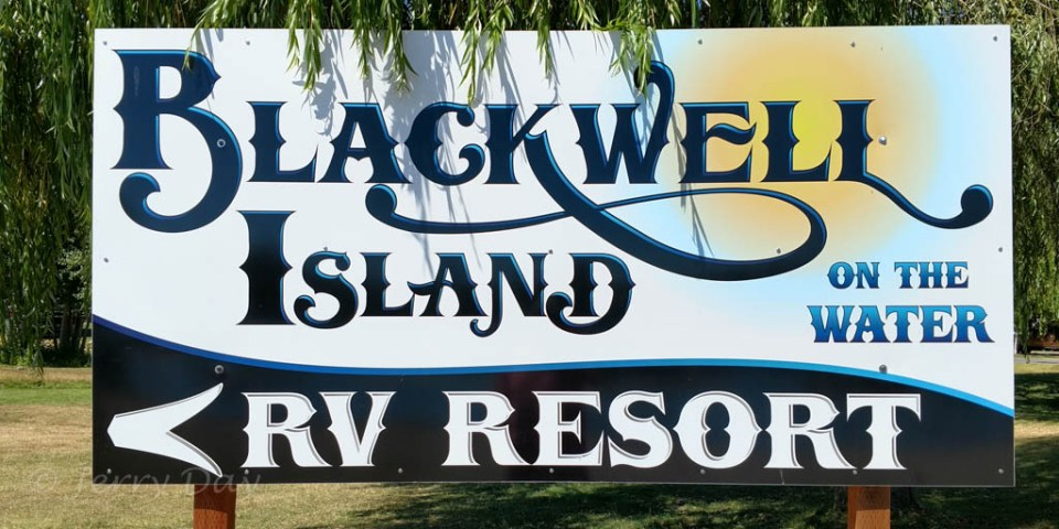 Blackwell Island RV Resort, Cour d'Alene, Idaho
