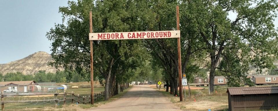 Medora Campground, Medora, North Dakota - 2017