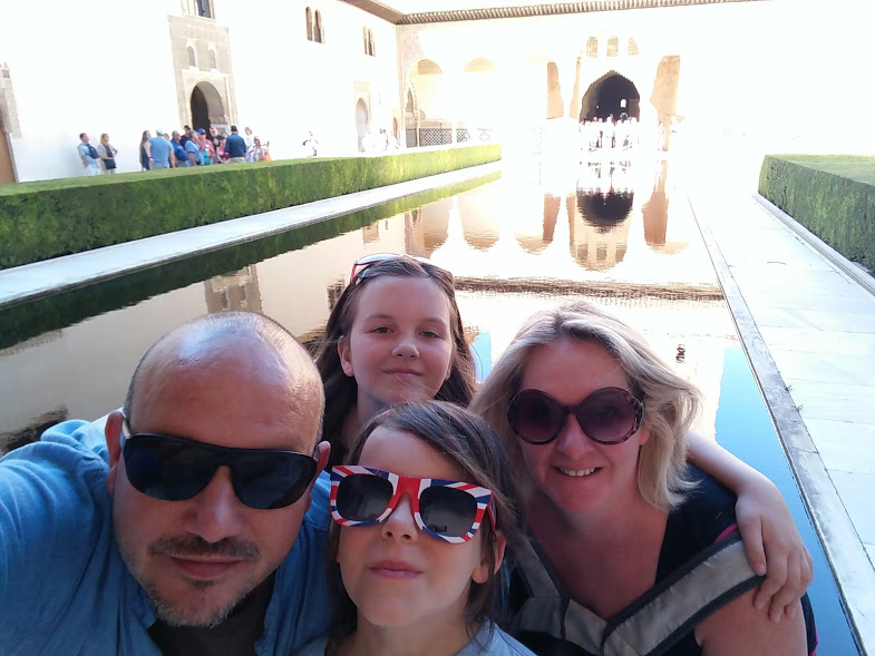 Granada with kids is great....just take your time.