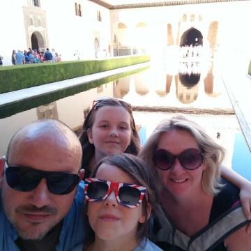 Alhambra – Family Selfie