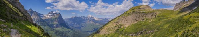 glacier national park highline trail