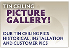 Tin Ceiling Picture Gallery