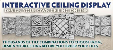 Interactive Ceiling Design Tool