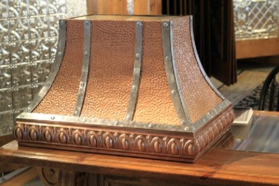 Antique Copper Hood Range #1