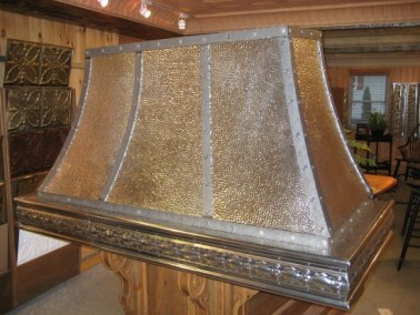 Antique Pewter Hood Range #3