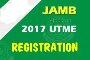 JAMB 2018/2019 Registration Form Online