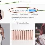 How Follow The Real KimKardashian on Instagram Account