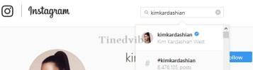Follow Kim Kardashian Instagram Profile Account